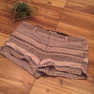 Fabric shorts